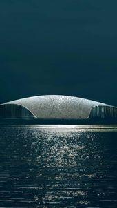 Conozca el Museo Noruego de Avistamiento de Ballenas El edificio se verá …   – Revista L'Officiel Brasil