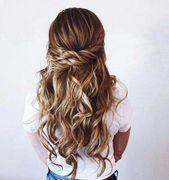 60 Ideen für DIY-Hochzeitsfrisuren bis zur Hälfte dos #hochzeit #diy #hairstyles #halfupweddinghair