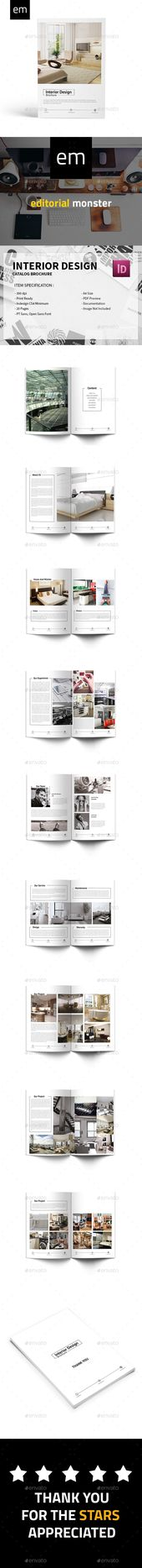 Interior Design Brochure Brochures, Brochure template and - interior design brochure template
