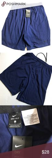 Nike men's athletic short size L color blue new New  Nike  Men's athletic sh…