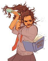 And the internet miraculously did the same.   What a black Hermione … Et, comme par miracle, internet a fait de même.   Ce q …