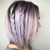 50 schöne lila Haare Ideen – NiceStyles