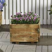 Wooden flower box 40 x 40cm | Praxis #woodenflower…