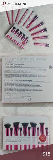 BH Cosmetics Sculpt & Mix Fan Faves Brush Set BH COSMETICS  *Sizzling Pink Sculpt &…