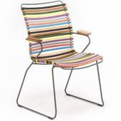 Houe Click Stuhl Mit Armlehne Hohe Ruckenlehne Multicolor Houehoue Home Decor Furniture Design In 2020 Outdoor Chairs Garden Chairs Outdoor Furniture