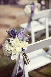 Lavendel, Hortensien und Cremerosen ♥   – Dream Wedding