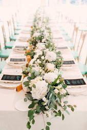 Blumenarrangements Hochzeit   – Tischdekoration zur Hochzeit