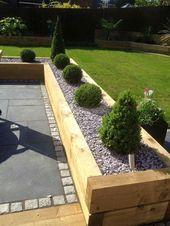 Garden design ideas low maintenance uk #Gardendesignideas #Garten #gardendesignid …  – terasse