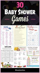 free printable gender reveal party games