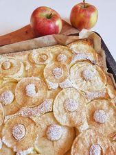 Einfacher Apfelkuchen vom Blech – Familienrezept – SIMPLYLOVELYCHAOS