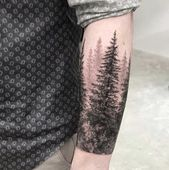80 Fascinating Sleeve Tattoos For Men and Women – Page 5 of 8   – Forearm tree tattoos