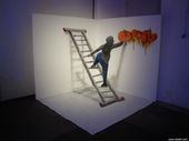 17 Amazing 3D Graffiti Artworks That Look Like They're Floating In Mid-Air   – Illustration