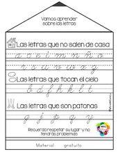 Materiales Educativos para Maestras: Las Letras en Su Lugar