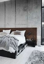 13 Cool Gray Bedroom Ideas to Your Bedroom  #GrayBedroom monochromatic bedroom g…  – Bedroom