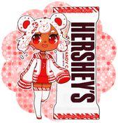 Hershey Kuma: Creme de cana-de-doces por ScarletDestiney   – Stickers