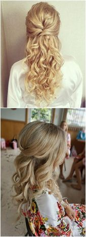 Wedding Hairstyles » 22 Half Up and Half Down Wedding Hairstyles to Get You Ins