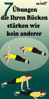 7 Übungen, die Ihren Rücken stärken wie kein anderer  – Gesundheit und fitness