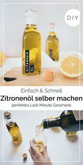 DIY Zitronenöl selber machen • Yeah Handmade – DIY & Upcycling Gruppe
