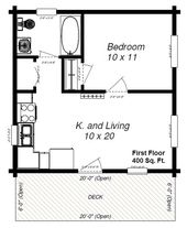 Image result for tiny house floor plans under 400 …