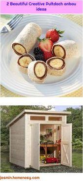 2 schöne kreative Dachanbauideen   – Pultdach anbau
