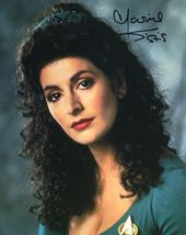 "Sexy MARINA SIRTIS In-Person Signed 8X10 ""Star Trek, STNG"" Photo – (SSG) COA"