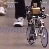 The #robot that can bike