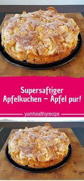 Super Juicy Apple Pie – Pure Apples!