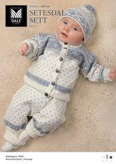 DG208 10C Setesdal genser, bukse, lue & votter | Dale Garn
