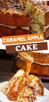 Caramel Apple Cake – Sweet Deliciousness