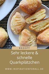 "Quarkplätzchen ""Gänse-Latschen"" – schnelles & leckeres Rezept"