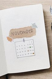 30+ Creative November Monthly Cover Ideas For 2019