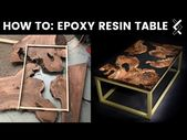 How To Make An Epoxy Resin Table–Part One of Two-…