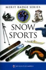 Snow Sports Merit Badge Pamphlet Literature Bsa Merit Badge Snow Sports Merit