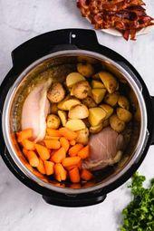 Instant Pot Creamy Chicken Stew