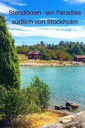 Naturreservat Stendörren südlich von Stockholm – ein schwedisches Schären-Paradies