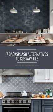 7 Amazing Backsplash Ideas that are not Subway Tiles