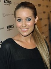 Lauren Conrad looks great in this simple yet touch of class hairstyle. Easily created, as its only pulled up into a tight pony tail. This best works w…