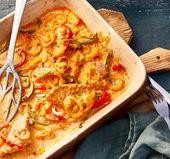 Paprika-Sahne-Schnitzel aus dem Ofen – Rezepte