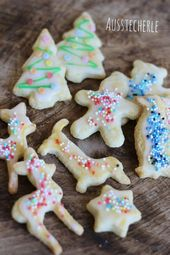 Colorful cookie aka. Simple butter cookies