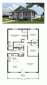 Outstanding House Plan Chp 46185 Bedrooms House And Tiny Houses Modern Three Bedroomed House On A Hal New House Plans Best House Plans House Plans Farmhouse
