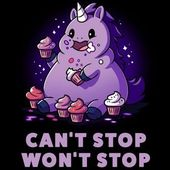 Can't Stop. Won't Stop. ♉♉— VISIT CANVAS ANIMALS HERE –♉♉ #animauxsau…