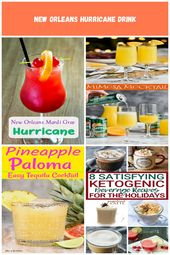 Mardi Gras Drink: New Orleans Hurricane Drink Recipe drink recipes alcoholic New…