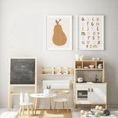 Pear Nursery Art – Babyzimmer Dekor