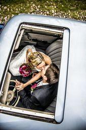 Ideen für Hochzeitsfotos – tolle Bilder von Jungvermählten als Inspiration # …   – Brautpaare