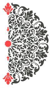 Mandala Stencil Tribal Sample Surat for DIY Wall Decor Fashionable Residence Ornamental Stencils – Residence Decor Design