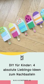 DIY für Kinder: 4 Lieblingsideen zum Nachmachen