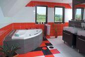 Photo of Modern Bathroom Wallpaper Design