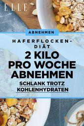 Mit der Haferflocken-Diät sollten Sie 2 Kilo Haferflocken pro Woche abnehmen …   – schnelle Diäten & Abnehmen