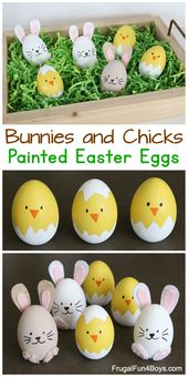 How one can Make the Cutest Bunny and Chick Painted Easter Eggs – Frugal Enjoyable For Boys and Ladies