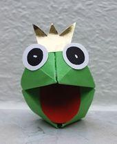 Froschkönig basteln …